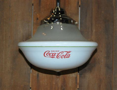 Coca Cola Light Fixture Coca Light Shop Collectibles Daily