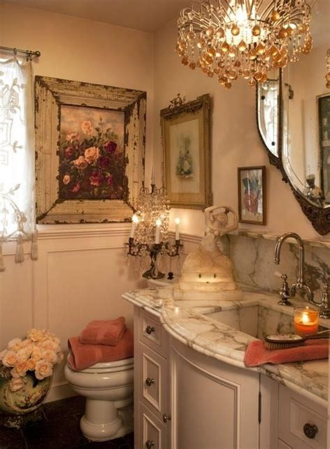 Country Chic Bathroom Ideas Everything Shabby Chic Bathroom Http Www Annabelchaffer Bathrooms Pinterest
