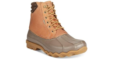 mens duck boots sale sperry top sider s avenue duck boots in for