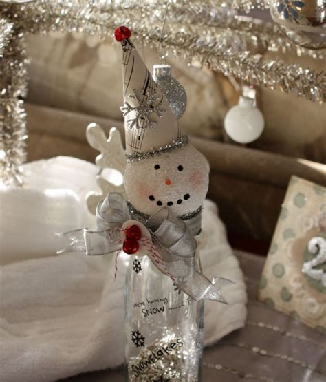 handmade christmas crafts 15 ways to recycle glass bottles