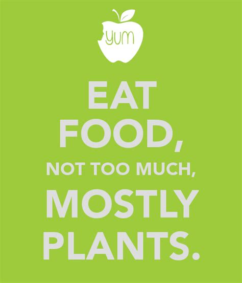 too much and not 0374535957 eat food not too much mostly plants poster d darden keep calm o matic