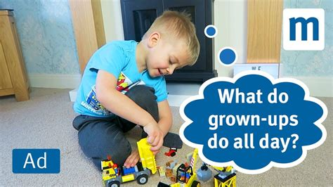 what do grown ups do 1847808093 what kids think grown ups do all day lego juniors youtube