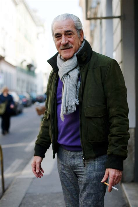 stylish 60 year old mens on the street via san andrea 171 the sartorialist