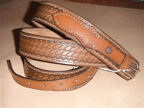 Ranger Belts Handmade - crafted 1 1 2 quot ranger belt by hambones custom leather