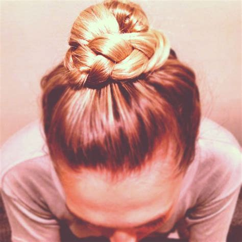 the knot so braided bun buns of steel how to create a braided top knot