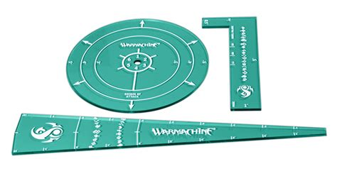 warmachine templates voidtracer and retribution template set