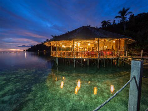 raja at dive resort restaurant raja at papua explorers resort