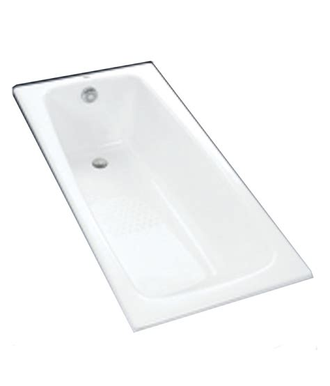 toto bathtubs cast iron buy toto enameled cast iron bathtub fby1600pe online at low price in india snapdeal