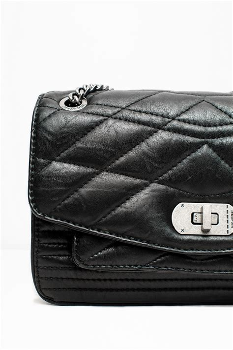 Introducing The Rafe Voltaire Penelope Satchel Handbag by Zadig Voltaire Quilted Bag In Black Lyst