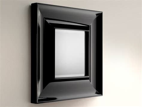 bathroom mirror black by