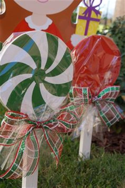 christmas yard lollipops 1000 images about gingerbread my house on decorations gingerbread houses and