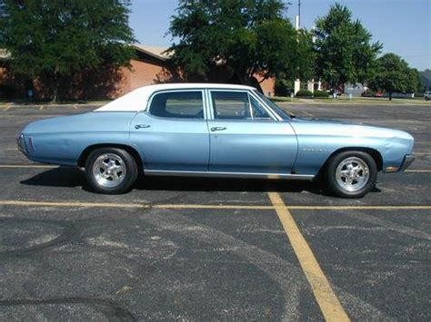 Sleeper Car For Sale by Sell Used 1970 Chevelle Clean 4 Door Sleeper With Carbed