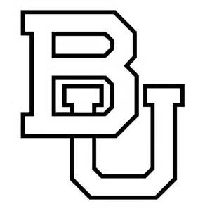 Baylor Bears College Football Window Sticker Decal Pick Your Color  sketch template