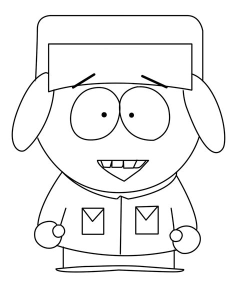 Free Coloring Pages Of South Park South Park Coloring Pages