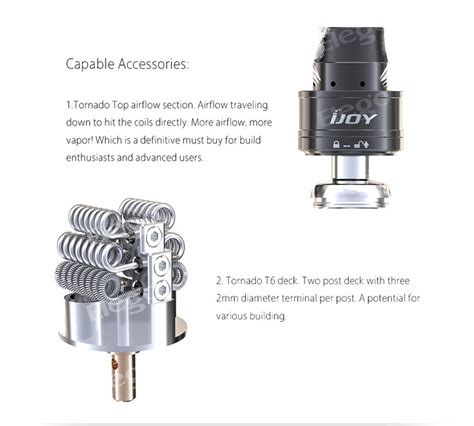 Q177 Ijoy Combo Rdta Replacement Glass Kaca Pyrex Tank Rba Mod Vap new wholesale distributor opportunities ijoy released tornado 300w capable two post rdta vs