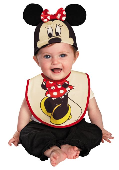 Jumper Bayi Lucu Dan Unik Mickey Mouse S 08x923 infant minnie mouse hat and bib set costumes