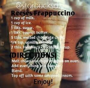 how to make a frappuccino at home diy reese s frappuccino how to make