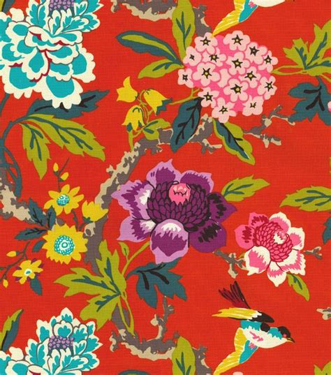 home decor print fabric waverly floral flourish clay jo ann 167 best images about mood boards on pinterest window