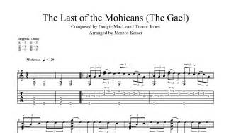 theme song last of the mohicans the last of the mohicans pdf