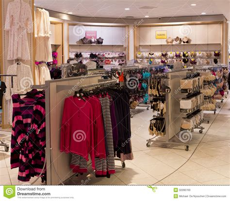 Underwear Section In Clothing Store Editorial Stock Image