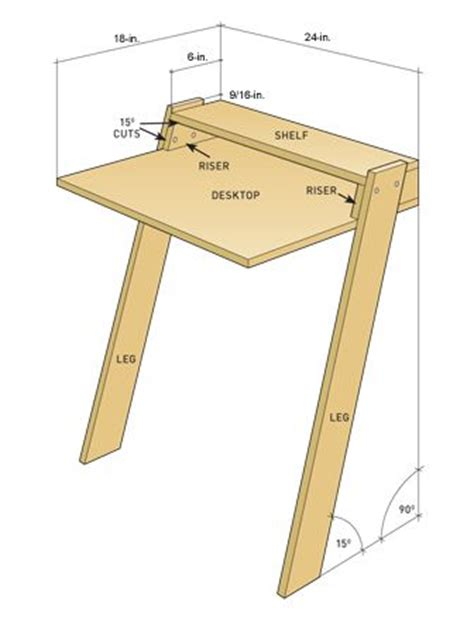 how to build a simple desk 20 diy desks that really work for your home office