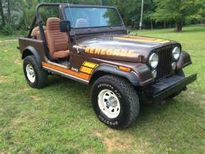 1983 jeep cj7 renegade barn find for sale photos