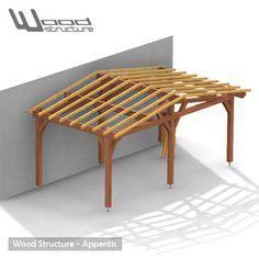 veranda bois en kit 846 1000 id 233 es sur le th 232 me appentis sur abri