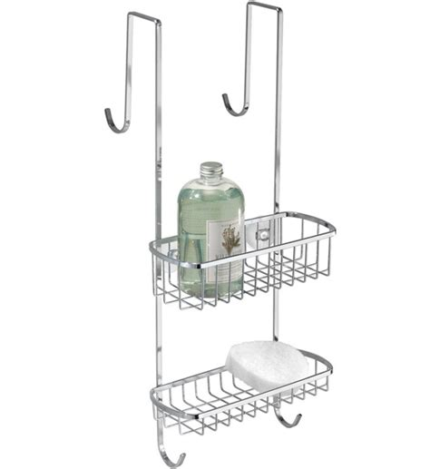 Shower Door Caddy Stainless Steel Stainless Steel Shower Door Organizer In Shower Caddies