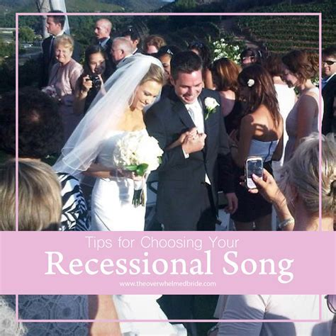Tips for Choosing Your Recessional Song   CREATIVE WEDDING