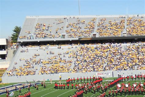 wvu student section a fan s rant the empty student section hail wv a west