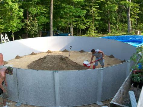 Backyard Pool by Above Ground Pool Installers Lowe Pools Kentucky