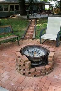 Steel Fire Pit Bowl - how to diy a fire pit for your backyard ideas and tutorials 2017