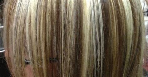 low lights for blech blond short hair chunky highlights and lowlights bleach blonde hair with