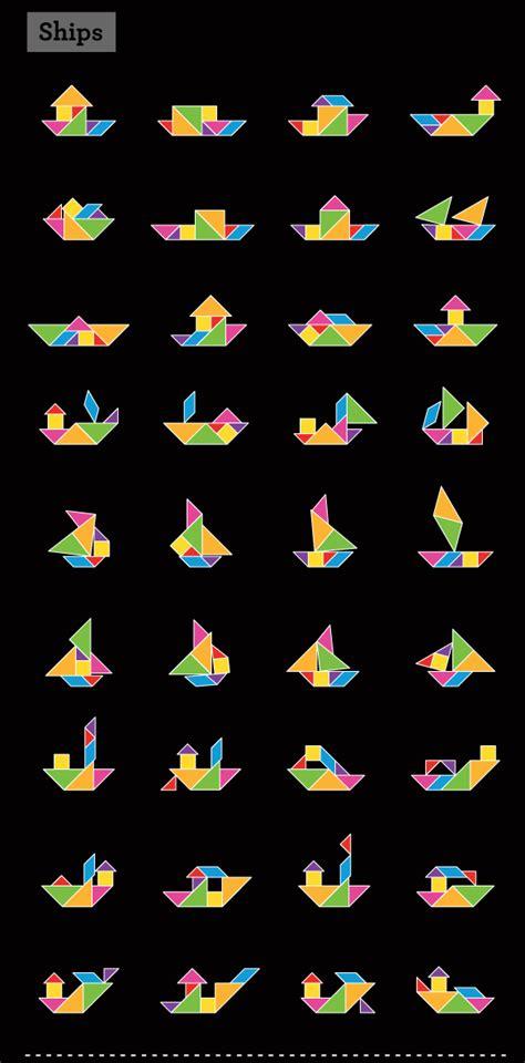 imagenes de barcos con tangram barcos tangrams pinterest geometr 237 a actividades y juego