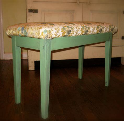 shabby chic storage bench vintage piano bench with storage oh glory vintage