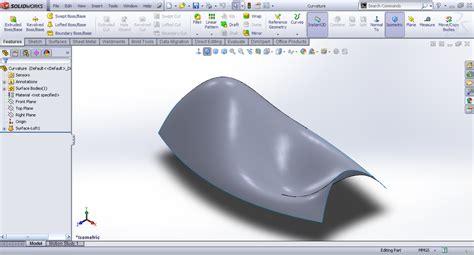 tutorial design solidwork tutorial splitting surfaces using split line in