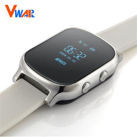 Vwar GPS Tracker Smart Watch T58 for Kids Children GPS Bracelet Google Map Sos Button Tracker