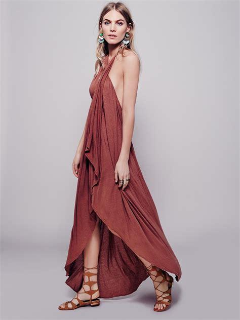 Dress Denimmaxi Dressdress Import Fashion Realpic eternal wrap maxi at free clothing boutique