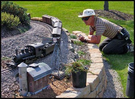 backyard railroads 25 best ideas about garden railroad on pinterest model