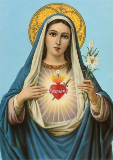 immaculate heart of mary feast of the immaculate heart of mary