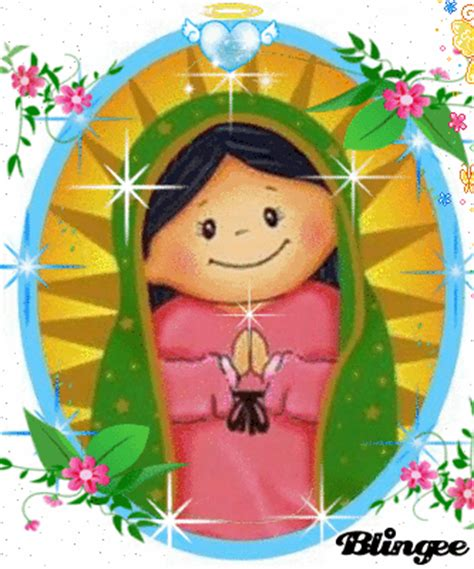 imagenes de la virgen de guadalupe animadas para facebook virgen de guadalupe fotograf 237 a 109821925 blingee com