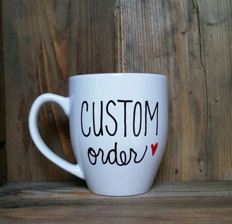 custom mug custom coffee mug personalized coffee mug