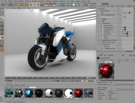 designing software cinema 4d release 11