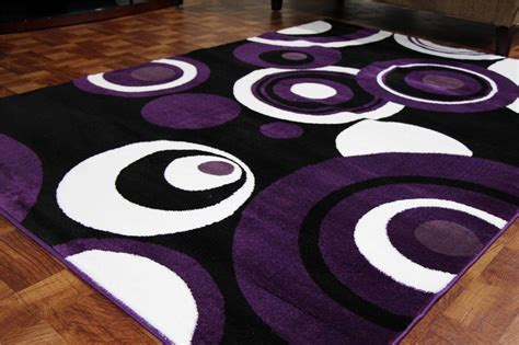 modern area rugs on clearance 5x7 contemporary black 2529 purple black white 5x7 8x11 area rugs contemporary