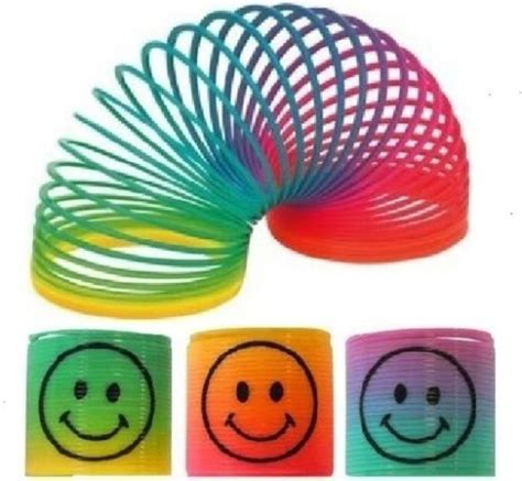 Happy Face Rainbow Spring Party Bag Toys
