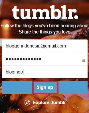 cara membuat quotes seperti tumblr cara membuat blog gratis di tumblr dengan mudah
