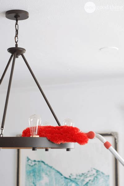 how to clean your light fixtures like a pro one thing by jillee