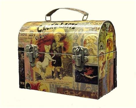 decoupage vintage suitcase 63 best images about altered or decoupage cases on