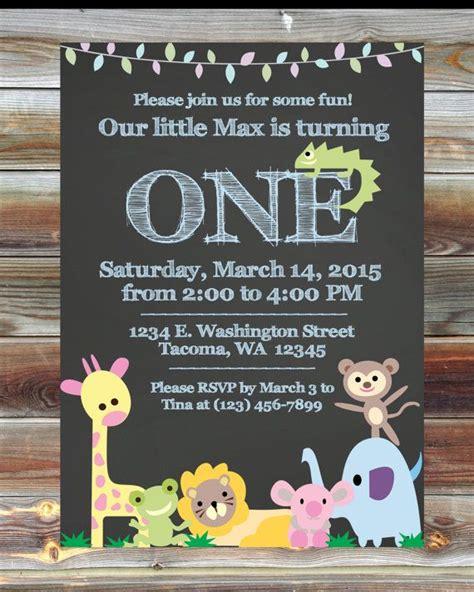 jungle themed birthday invitations 89 best adorable invitations images on pinterest invite