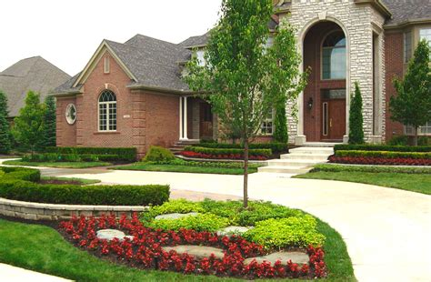 high quality front yard landscapes 3 home front yard landscaping ideas newsonair org